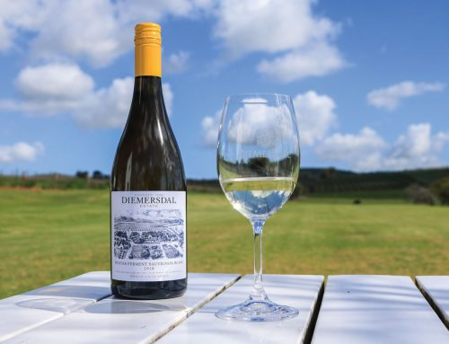 Diemersdal Makes Hot News with 'Frozen' Sauvignon Blanc