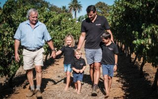 Thys Louw and family Diemersdal